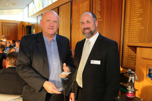 Easby collects NZFMA award for Best Publication